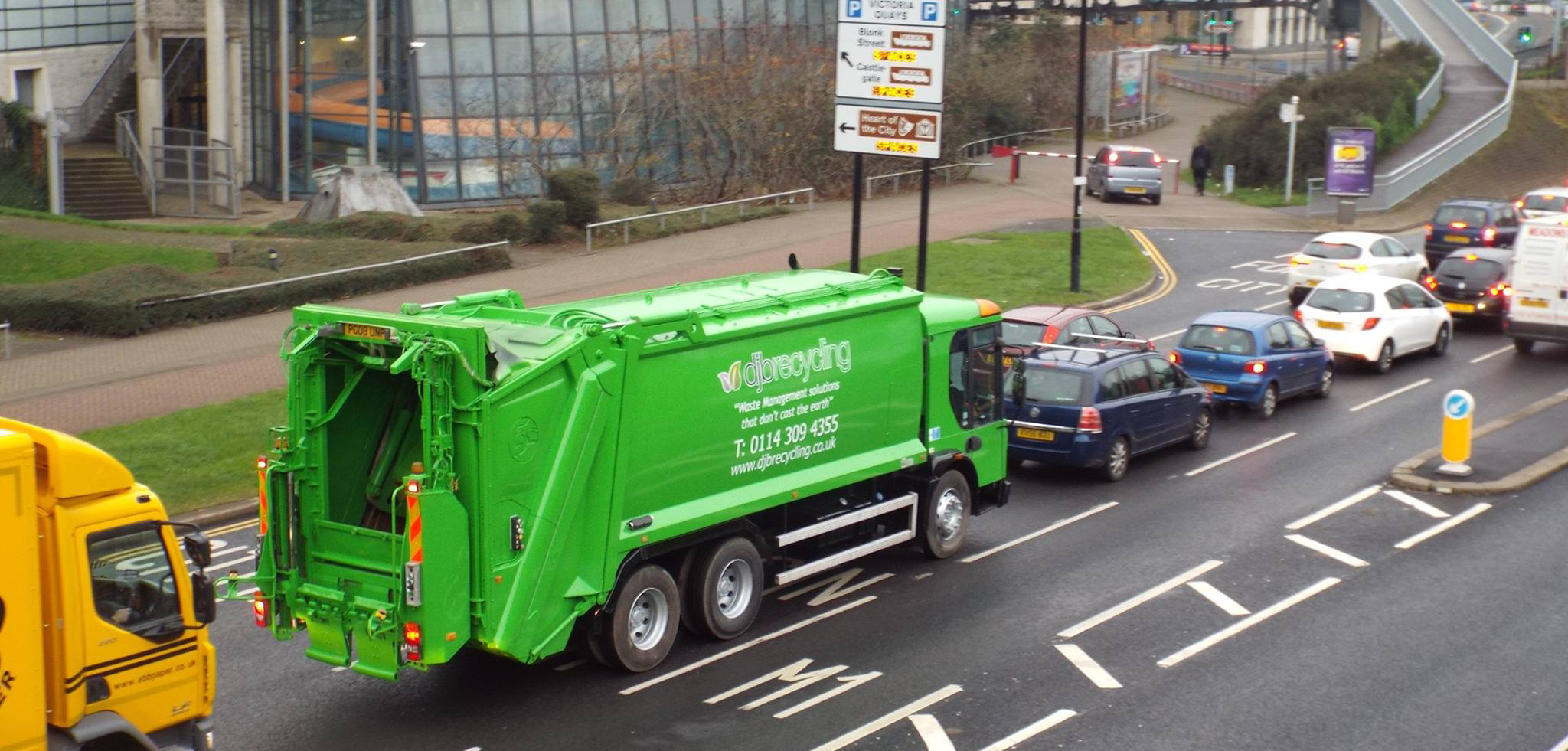 Local waste lorry